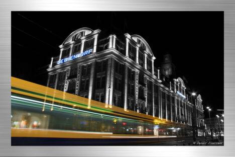 Tram by night