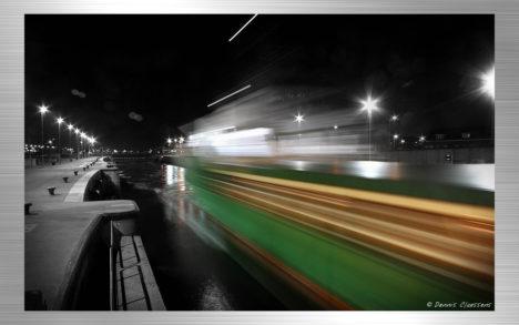 Ijmuiden - boat by night