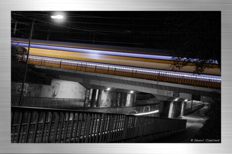 Alkmaar - train by night