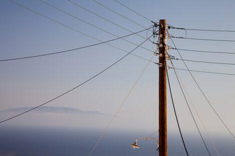 electricity pole