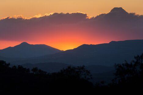 Andalusie zonsondergang sunset