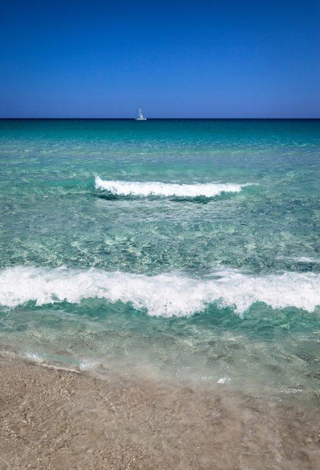 Sardinia sea beach