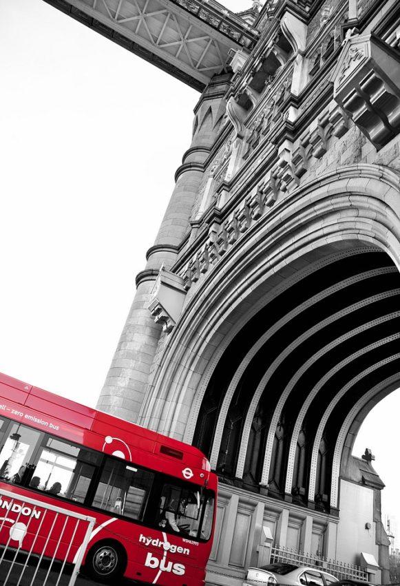 London Tower Bridge Bus