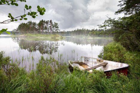 Swedish Lake in Tiveden national park