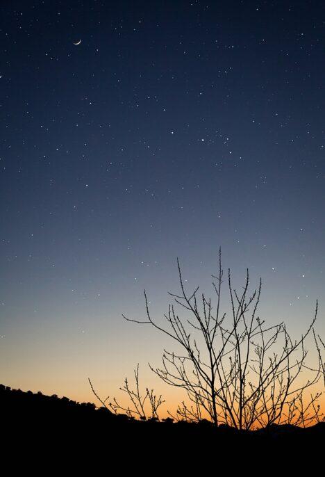 Andalusie sterren sunset sunrise