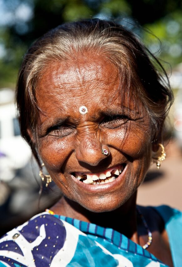 Smile Indian Woman